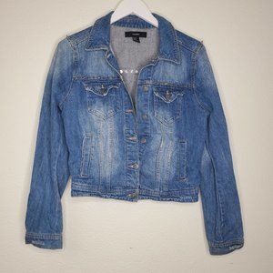 Forever 21 Jackets & Coats - Forever 21 Studded Denim Jacket
